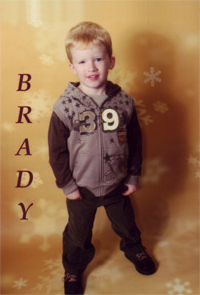 Brady at 3 years old